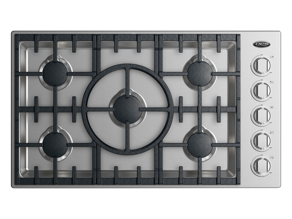 Gas Cooking Surfaces DCS CDV2-365H